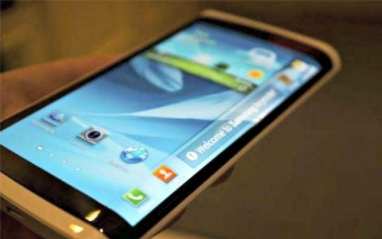Samsung to unveil 'bent' smartphones