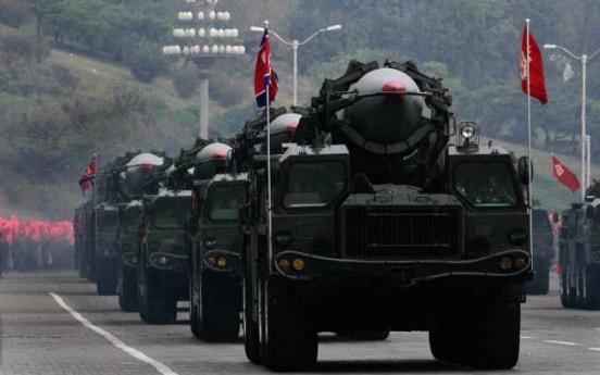 N. Korea test-fires four short-range missiles