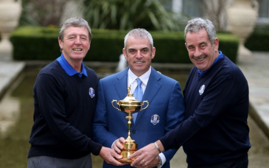 Torrance, Smyth picked as Ryder Cup vice captains