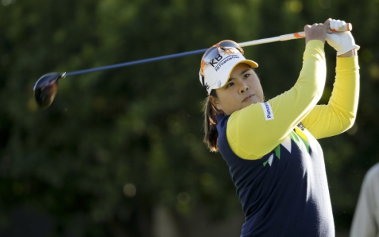 Feng takes early lead at Kraft Nabisco
