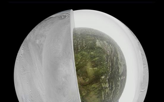 Vast ocean found beneath ice of Saturn's moon