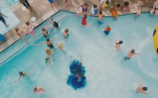 Pee in the pool can produce chemical weapon equivalent