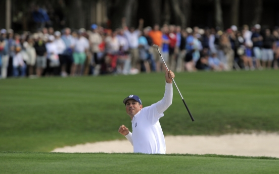 Kuchar chips in for RBC Heritage win