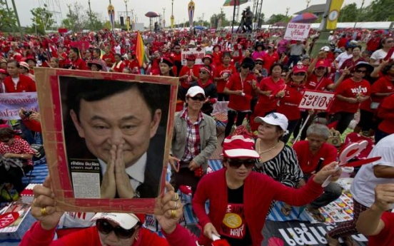 Thaksin 'ready to sacrifice family'