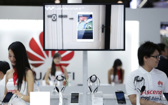 Rise of Chinese smartphones threatens Samsung, LG