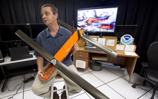 Drones become newest hurricane research tools