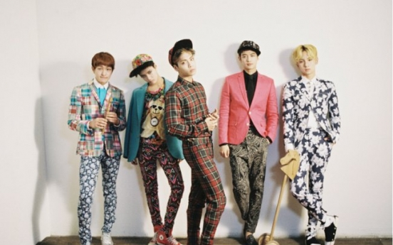 SHINee's Shanghai concert makes splash