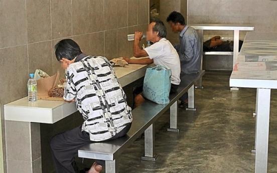 Homeless in Kuala Lumpur