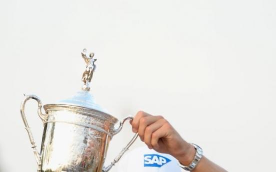 Kaymer wins U.S. Open by 8 strokes