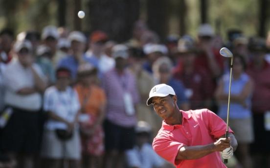 Tiger taking bigger swings
