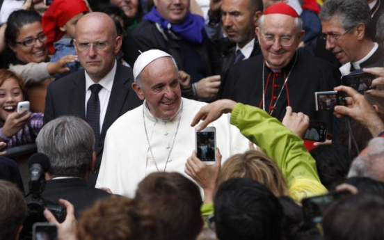 Pontiff to meet Sewol families