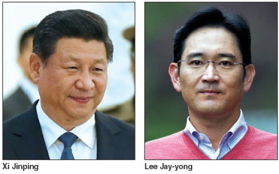 Samsung's heir Lee to meet Chinese leader