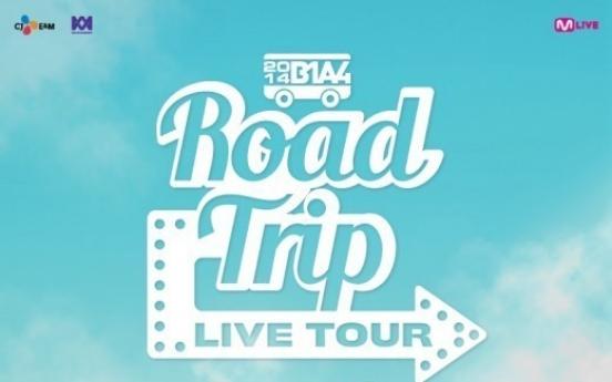 B1A4 starts 'Road Trip'