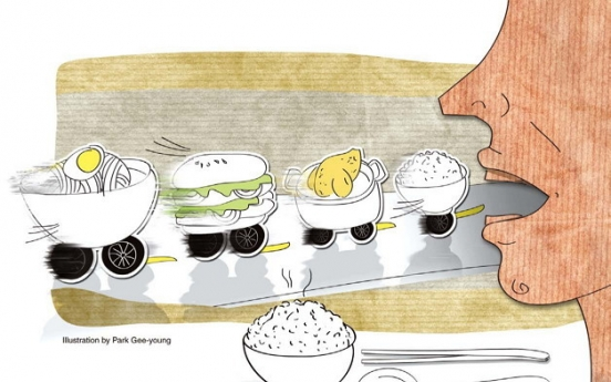 [Weekender] Risks of Korean eating habits