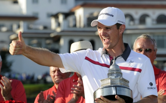 Rose rules at Congressional