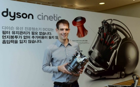 Dyson unveils filter-free vacuum to local market