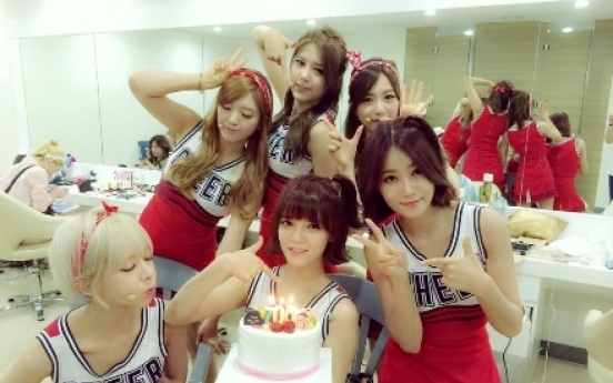 AOA celebrates 700th day since debut