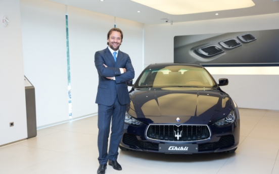[Herald Interview] After growth, Maserati bets big on Korea