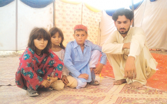 Orphaned and displaced by war
