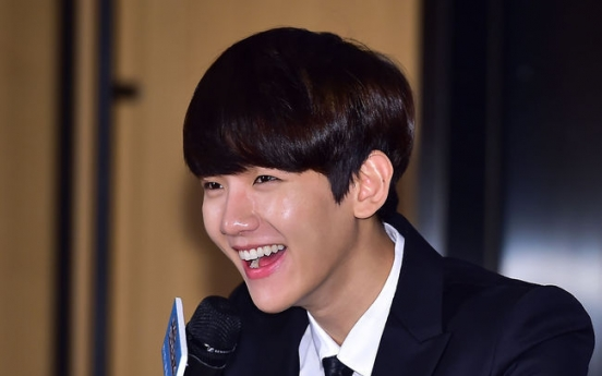 Baekhyun draws line between work and love
