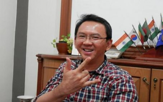 Ahok set to be Jakarta's first Chinese governor