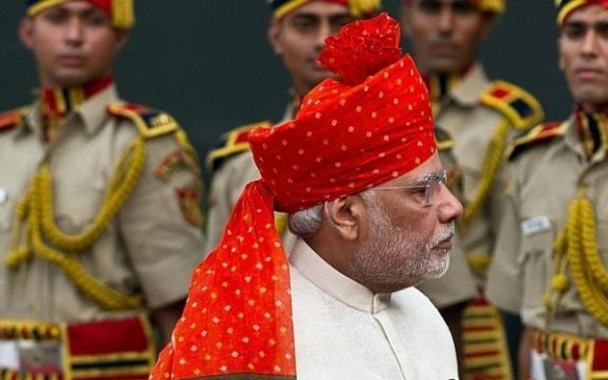 Indian leader Modi dressed for success