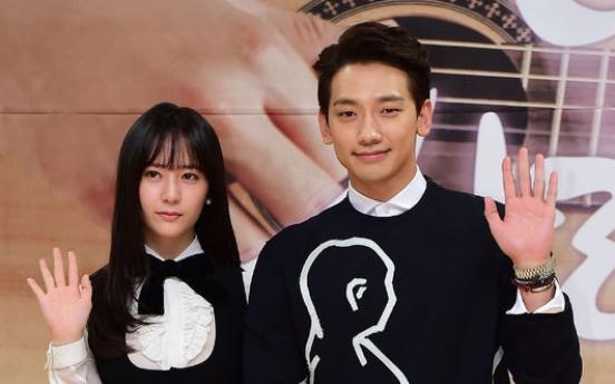 Rain cannot feel 12-year age gap with Krystal