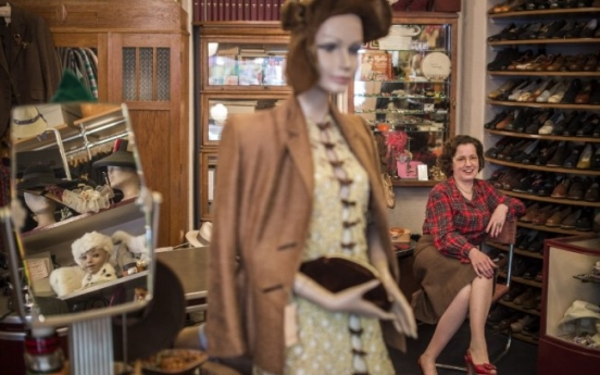 Berlin passion for '40s fashion untempered by WWII hue