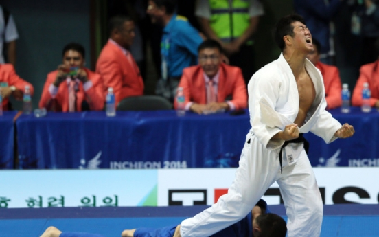 [Asian Games] Korea wraps up judo with mixed results