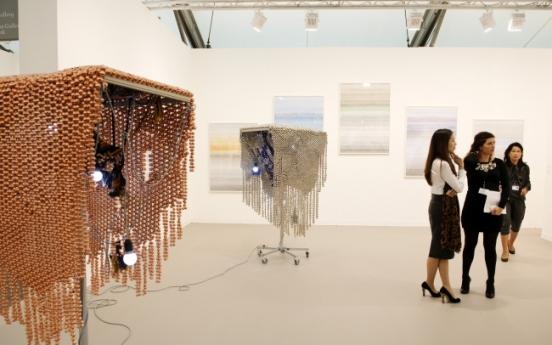 Korean artists featured in Frieze Art Fair London