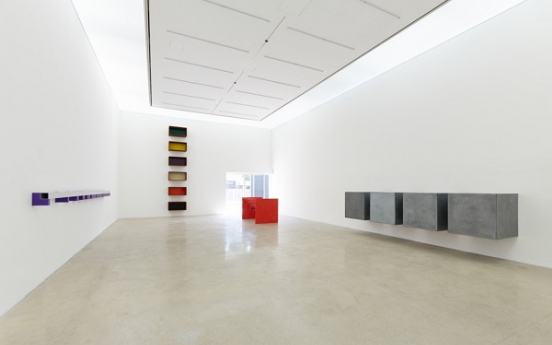 Simplicity and space explored in Judd exhibit