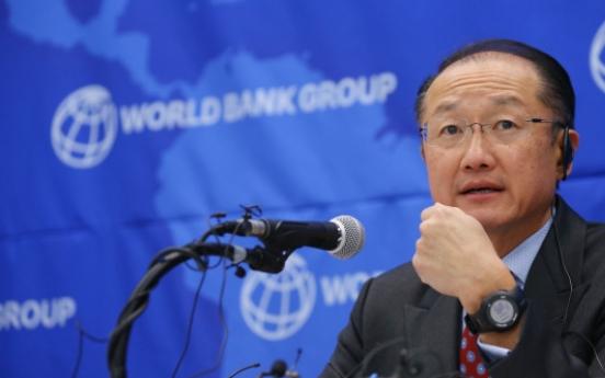 World Bank chief calls on North Korea to open doors