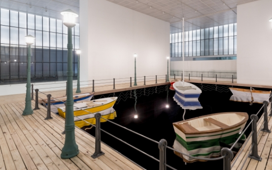 Small port occupies museum space