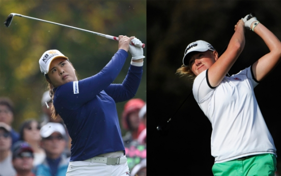 Park, Lewis in LPGA title hunt