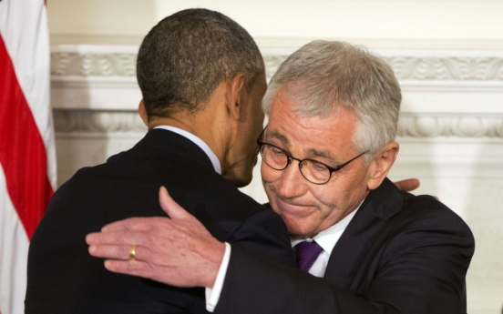 U.S. Defense Secretary Hagel resigns: officials