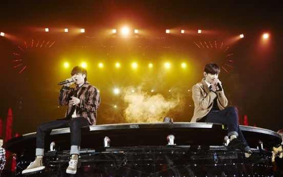 TVXQ discusses staying fresh after decade of performing