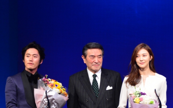 Jang Hyuk, Cha Ye-ryun named best dressed at Herald Donga awards