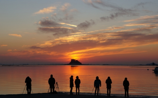 8 places to watch sunset, sunrise in Incheon