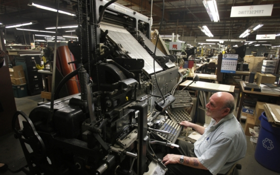 Bookbinding businesses keep the pages turning, for now