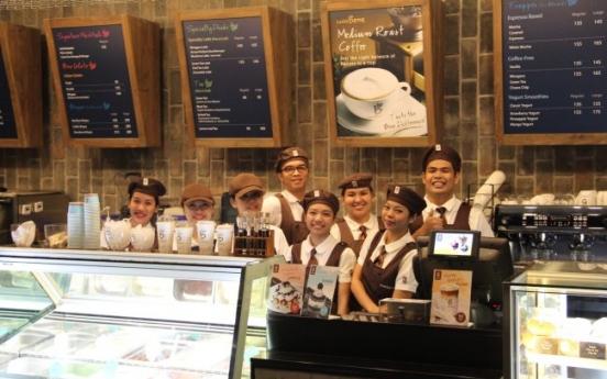 Caffe Bene seeks success in East Asia