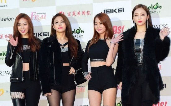 K-pop girls dazzle at Gaon Awards
