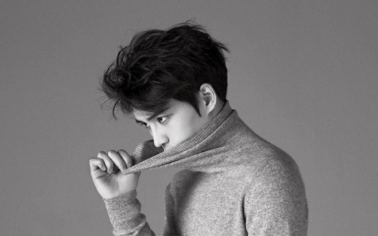 Jaejoong thanks his fans in Harper's Bazaar