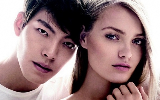 Kim Woo-bin first East Asian model for Calvin Klein Watches