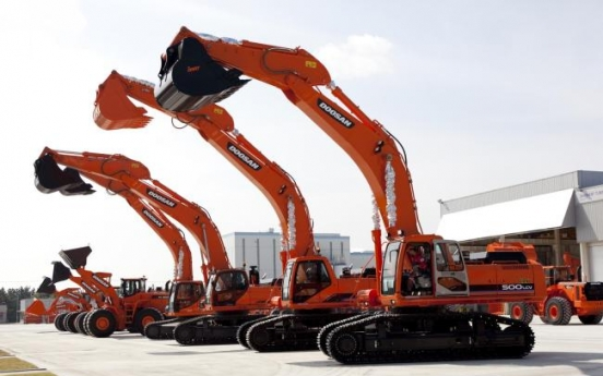 Doosan Infracore carrying out staff cuts