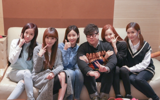 Crayon Pop teams up with Shinsadong Tiger