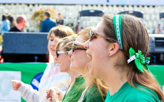 St. Patrick's Day puts music to the fore