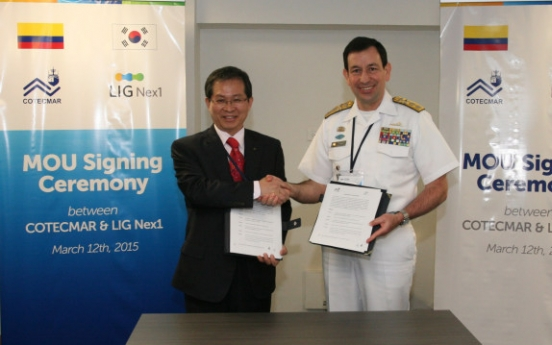 LIG Nex1 partners with Cotecmar for patrol ships
