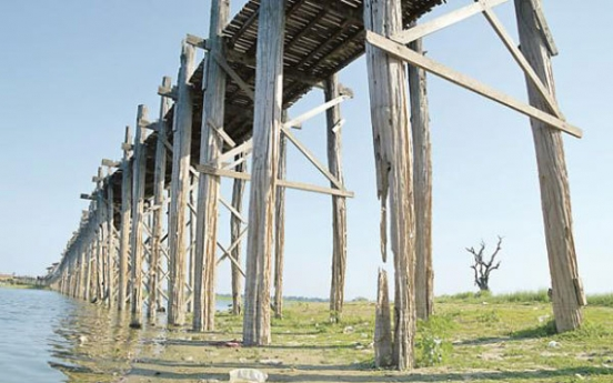 Preserving the world's oldest teak bridge