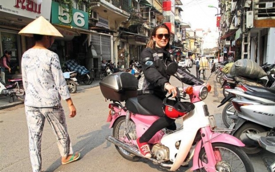 Riding amid bombs on Ho Chi Minh Trail