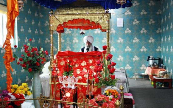 Temple home from home for Korea's Sikhs